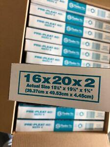 12 23-1//2 x 29-1//2 x 1 MERV8 HVAC Media Pads Orange /& Air Filter Frame