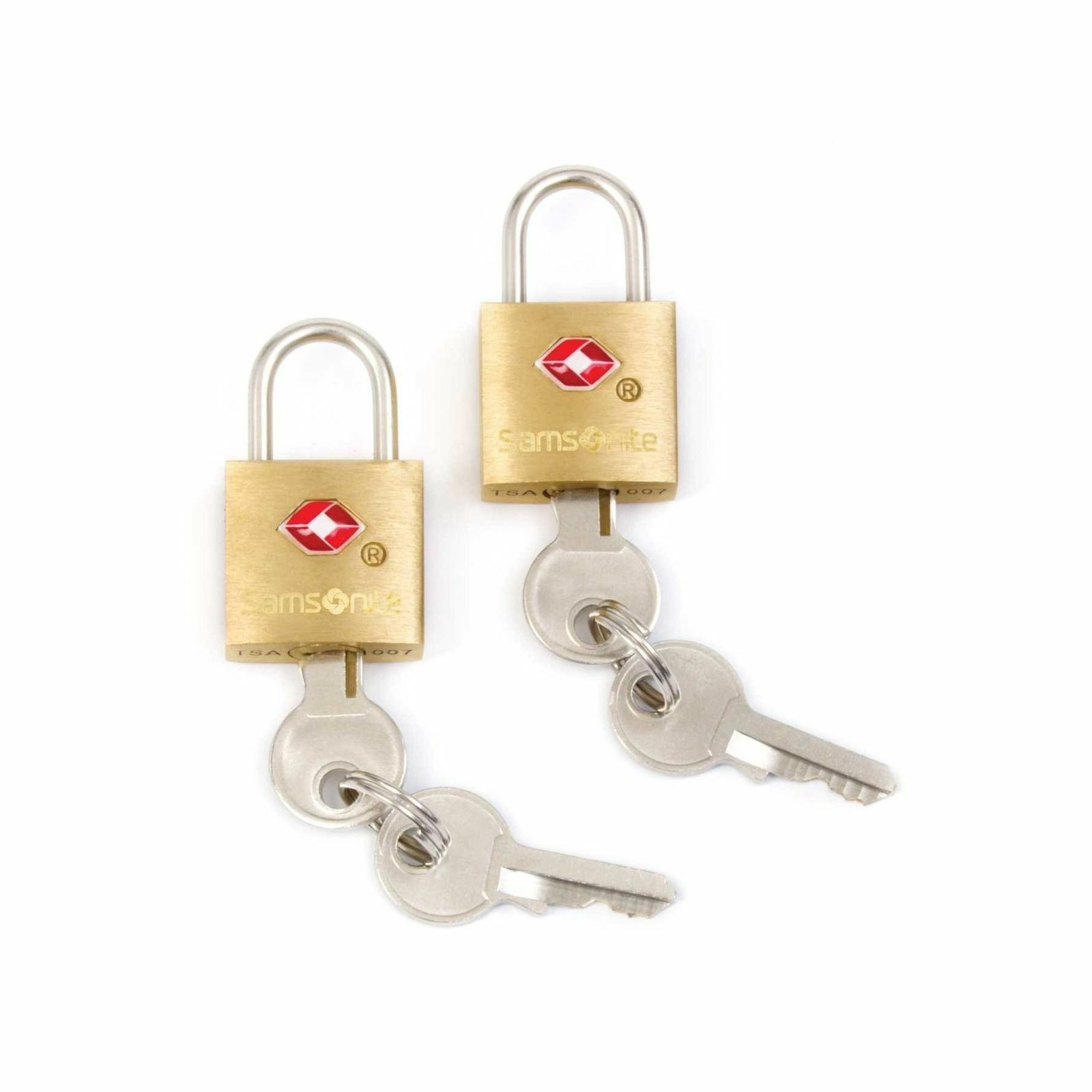 Samsonite Travel Sentry 2-pack Key Locks Varsity Red