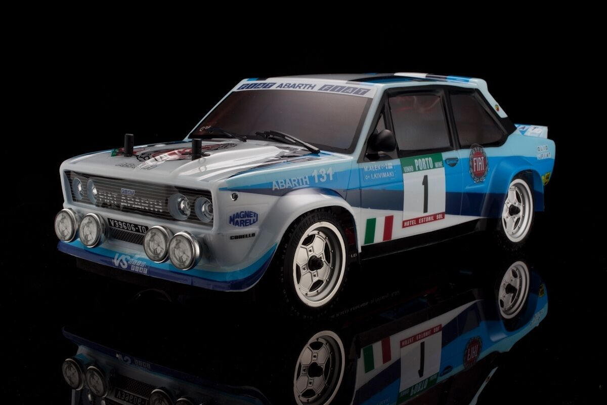 Rally Legends 1 10 scale RTR  FIAT 131 RC Drift  Rally Car