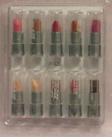 Avon 10 Beyond Color Lipstick Mini Sample Try Or Travel Coral Pink Buff Burgandy