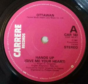 "Ottawan – Hands Up (Give Me Your Heart) 7"" Vinyl Single ..."