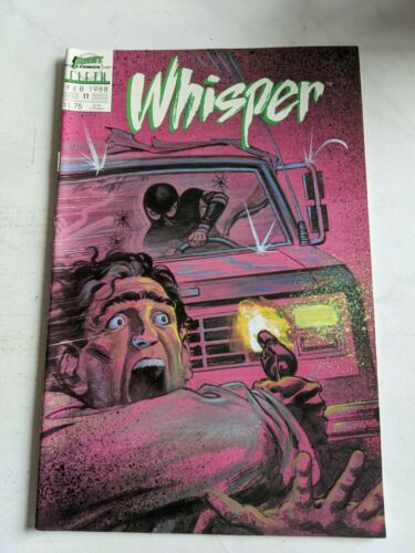 Details about  /Whisper #8 August 1987 First Comics