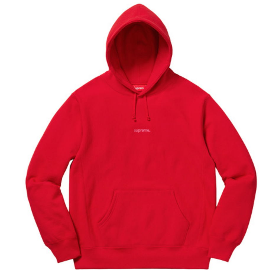 Supreme Trademark Hooded Sweatshirt    confirmed