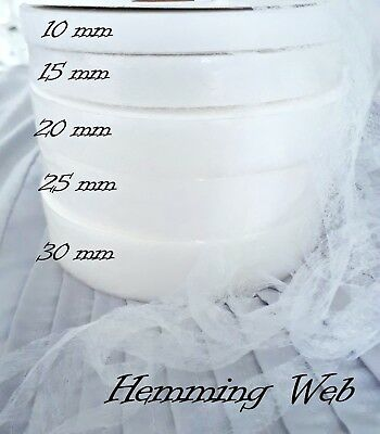 HEM-IT Iron On Hemming Web 4 metres for Sewing Crafts