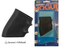 Hogue Handall Universal Slip On Grip Fullsize Semi Automatic Rubber Black 17000
