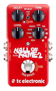 New-TC-Electronic-Hall-of-Fame-2-Reverb-Guitar-Effects-Pedal-HOF