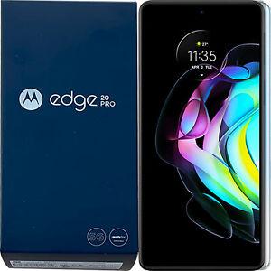 BNIB Motorola Edge 20 Pro Dual-Sim 256GB Iridescent Cloud Unlocked 5G GSM