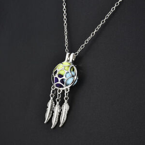 Dream-Catcher-Pearl-Cage-Floating-Locket-NO-Akoya-Oyster-Pearl-Necklace-Pendant