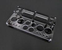 Black Vape Stand Atty Rda Rba Mod Clone Holder Mechanical Box X113