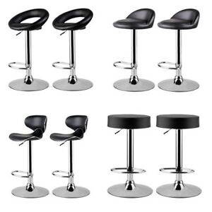 Stupendous Details About Set Of Bar Stool Barstool Kitchen Lounge Swivel Seat Lift Chair Dining Room Pub Camellatalisay Diy Chair Ideas Camellatalisaycom