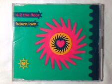 4-2 THE FLOOR Future love cd singolo UK 4 TRACKS
