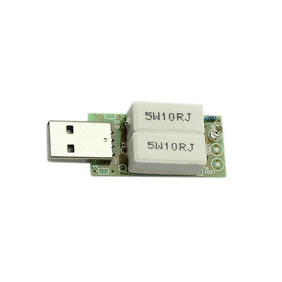 USB 1A Discharge Resistor Load  For Phone Power Bank Battery Capacity Testing K7