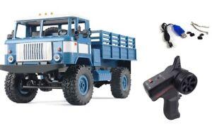RC-camiones-gaz-66-camiones-4wd-1-16-rtr-azul-incl-bateria-y-cargador-nuevo