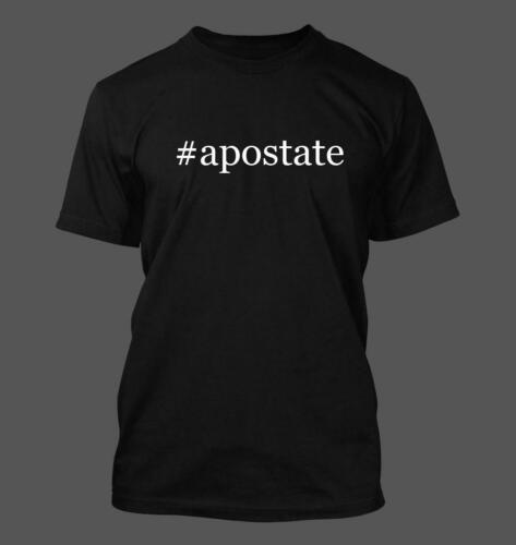 #apostate Men/'s Funny Hashtag T-Shirt NEW RARE
