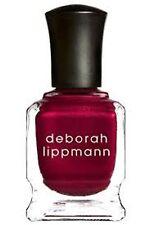 1 Deborah Lippmann MINI SIZE WICKED,GIRL ON FIRE DARK RED NAIL POLISH 27oz/8 ml