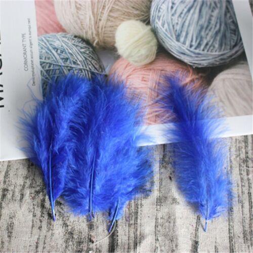 Turkey Feathers 100 pcs 10-15 cm 4-6 Inches Wedding Decoration Plumes Clothing