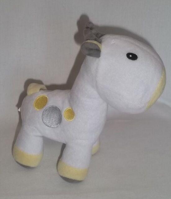 NWT Carters White Yellow Grey Gray Plush Seagull Bird Stuffed Animal Baby Toy