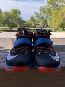 new concept 06959 cf68e Image is loading Mens-Nike-KD-7-On-The-Road-Baskeptball-