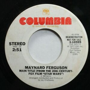 Pop-Promo-45-Maynard-Ferguson-Main-Title-From-The-20Th-Century-Fox-Film-034-Star