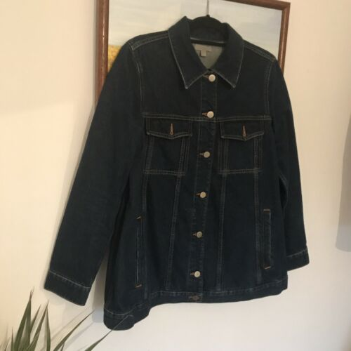 Cos Denim Size 10 line A Jacket avPqwUa