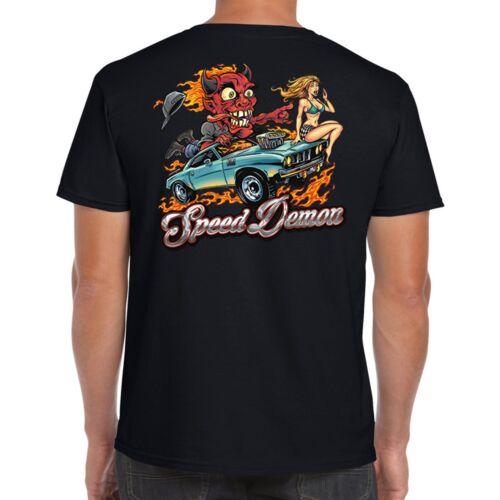 Hotrod 58 da Uomo Hot Rod T Shirt Rat Rockabilly Vintage Clothing V8 AUTO IDEA REGALO
