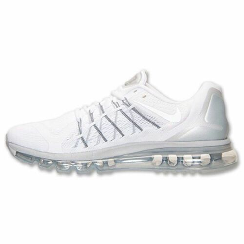 Shoes 511 100 Air 10 White Nike Max 698902 5 2015 Size Platinum Grey Men 76yYIfbgv