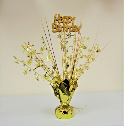 """11/""""-14/"""" Center piece Shiny Balloon Weights Birthday//Baby Shower Table Decor"""