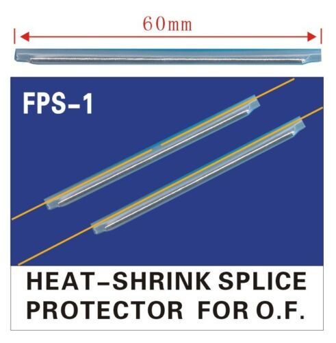 1000pcs ¢2.5 Fiber Optic Fusion Splice Protection Sleeves 60mm High Quality