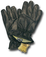 1 NEW PAIR KEVLAR-LINED LEATHER RESISTER DUTY GLOVES [70645]