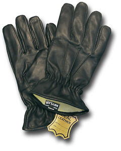 1-NEW-PAIR-KEVLAR-LINED-LEATHER-RESISTER-DUTY-GLOVES-70645