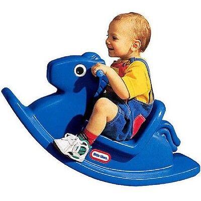 Little Tikes Rocking Horse Tykes Rocker Blue Pony Ride
