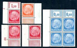 DR-1932-467-469-470-POSTFRISCH-ECKRANDER-TADELLOS-C2778