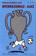 Europa Cup 1 Final 1972 Ajax - Internazionale 2-0 DVD Full Match