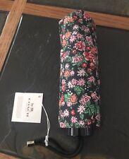 Authentic Coach Posey Cluster Floral  Print Mini Umbrella