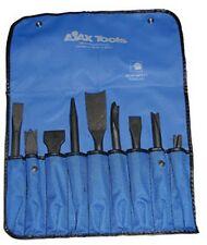 Ajax Tools A9029 Air Chisel Set .401 Shank, 9pc
