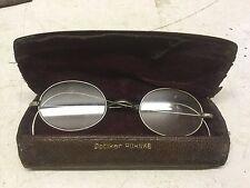 vintage spectacles Glasses in original case - Optiker Ruhnke