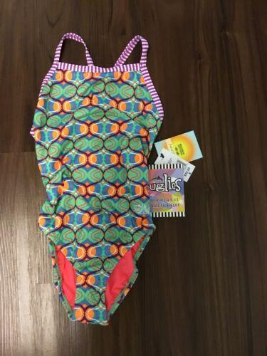 Brand new Dolfin uglies swimsuit practice suit fiesta UPF 50 SIZE 28 30 32 34