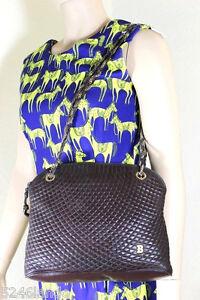 Vintage Bally Brown Quilted Leather Shoulder Bag Ebay