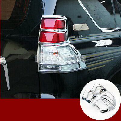 Fit For Toyota 2018 New Land Cruiser PRADO Rear Tail Light lamp Cover Trims