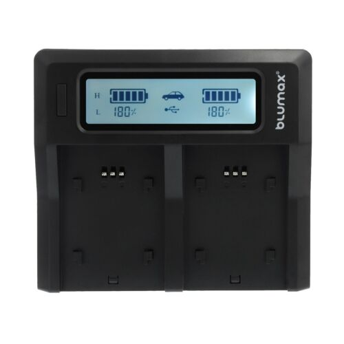 Bateria dual cargador Charger para Sony np-fw5090336Sony Alpha a7 II a7r etc.