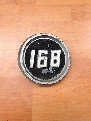 Massey Ferguson 165 2 Vinilo stickers//decals /& 2 Plastic Side Insignias