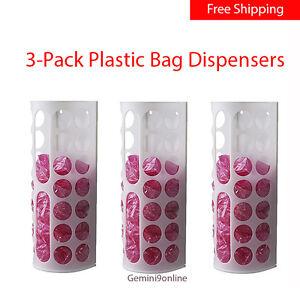 Ikea Variera Plastic Bag Dispenser 3 Pk