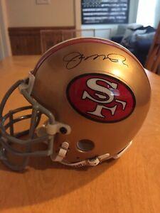 d5d26510d83 Joe Montana Hand Signed Mini Helmet 49ers Steiner PSA DNA   Montana ...