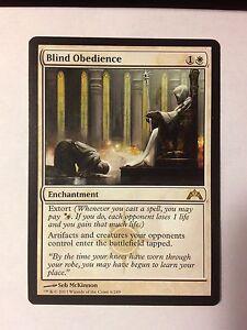 Blind-Obedience-VO-MTG-Magic-EX