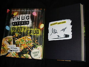 Matt Holloway & Michelle Davis signed Thug Kitchen Party ...