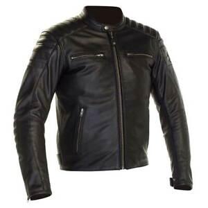 Richa-Daytona-2-Motorbike-Motorcycle-Leather-Jacket-Black