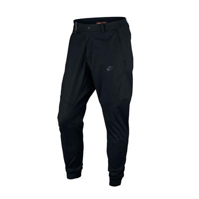 Nike Sportswear Bonded Tech Woven Jogger Black Pants Size 36 823363-010 $120 New