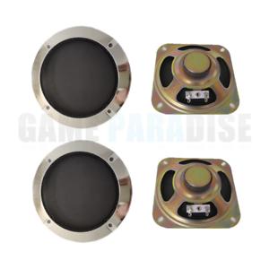 "2pcs 4/""inch 8Ω 10W Speaker 102MM Loudspeaker HiFi Audio Part for Arcade games"