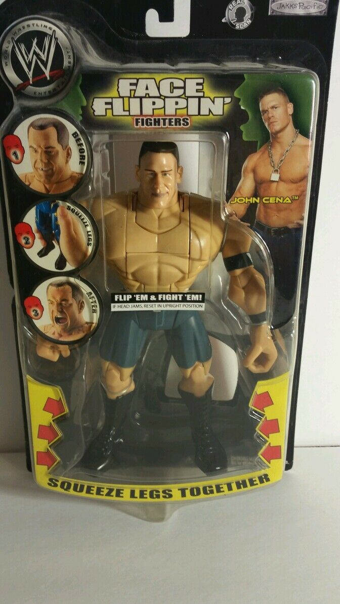 WWE FACE FLIPPIN JOHN CENA ACTION FIGURE(034)