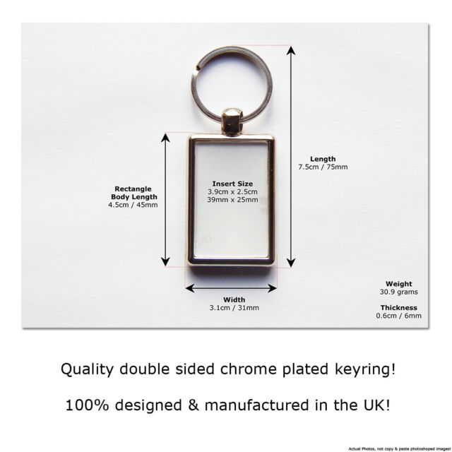 VOLVO C30 R DESIGN Sports Car Koolart Leather and Chrome Keyring